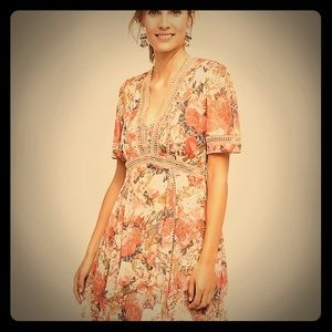 Ranna Gill for Anthropology Rose Bouquet Dress